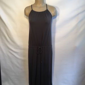Victoria's Secret Gray Sleeveless Long Dress SP S